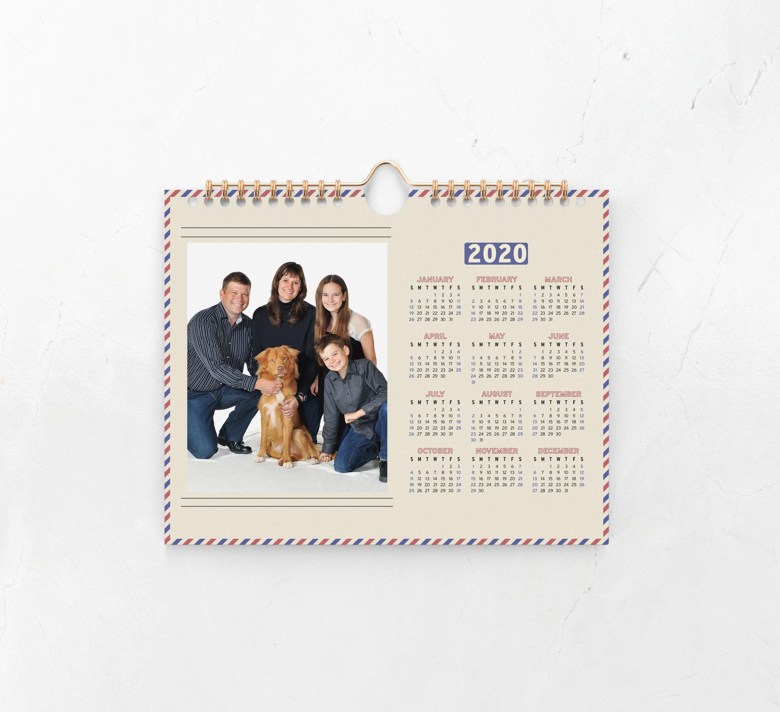 Airmail Calendar