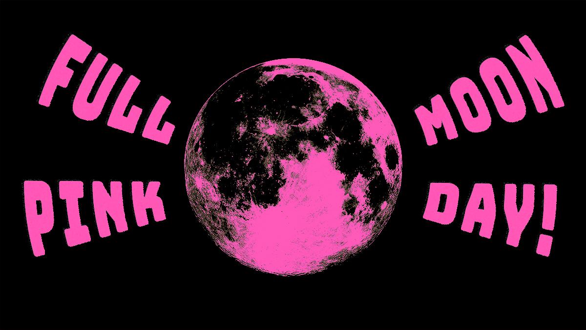 Full Pink Moonday